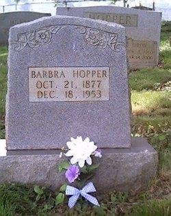 Barbra J. Pearlie <i>Rosson</i> Hopper