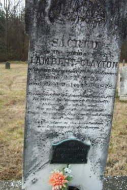 Lambert Clayton