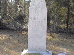 Frederick Preston Fred P. Cone