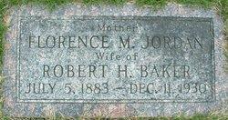 Florence M. <i>Jordan</i> Baker