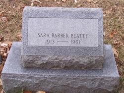 Sara <i>Barber</i> Beatty