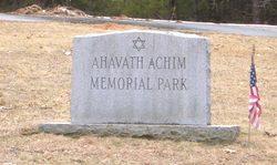 Ahavath Achim Memorial Park