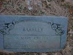 Mary <i>Carter</i> Barkley