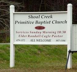 Shoal Creek Primitive Baptist Cemetery