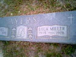 Lola Mae <i>Miller</i> Ayers