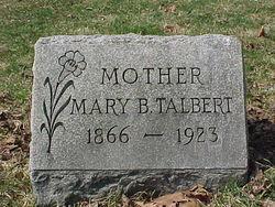 Mary Morris <i>Burnett</i> Talbert