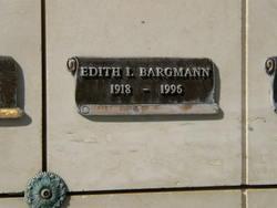 Edith Irene <i>Smith</i> Bargmann