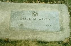 Olive Mary <i>Sperry</i> Wood