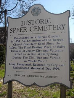 Speer Burial Ground