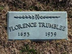 Florence Georgianna <i>Carman</i> Trumblee