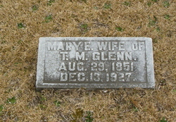 Mary Elizabeth Molly <i>Hendrix</i> Glenn