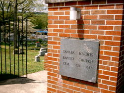 Cahaba Heights Baptist Church Cemetery