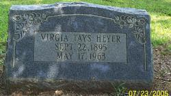 Virgia Moores <i>Tays</i> Heyer