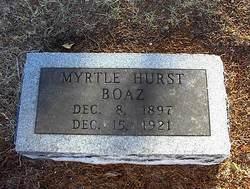 Myrtle <i>Hurst</i> Boaz