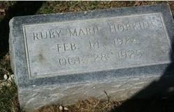 Ruby Marie Hopkins