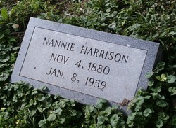 Nancy Lair Nannie <i>Taylor</i> Harrison