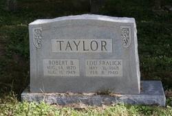 Margaret Lula Lou <i>Taylor</i> Fralick
