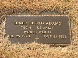 Spec Elmer Lloyd Adams