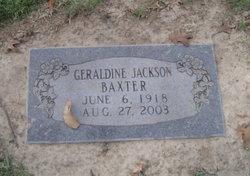 Geraldine <i>Jackson</i> Baxter