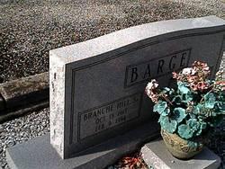 Branche Hill Barge, Sr