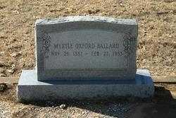 Myrtle <i>White</i> Ballard