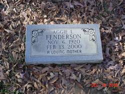 Aggie L. Fenderson