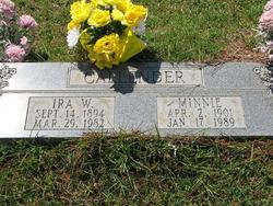 Minnie <i>Case</i> Callender