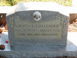 Ailyus E. Callender