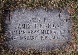 Pvt James Joseph Finnigan