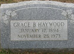 Grace Taylor <i>Braddock</i> Haywood