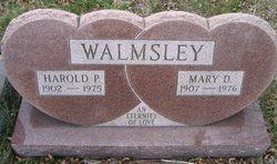 Mary Beck <i>Dyer</i> Walmsley
