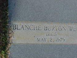 Blanche <i>Burton</i> Wells