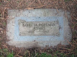 Anna Bavetta <i>Stitzer</i> Adams