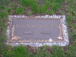 Vera Vaun <i>Newbrough</i> Parr