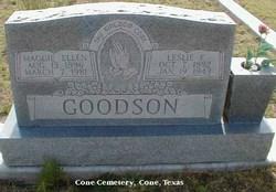Maggie Ellen <i>Stansell</i> Goodson