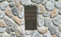 Paterson Memorial Cemetery