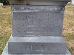 A. Louise <i>Merrill</i> Allen