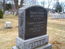 Almira L. <i>Carpenter</i> Allen