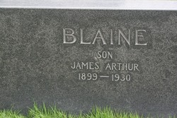James Arthur Blaine