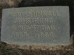 Mary & Infant <i>Sumrall</i> Armstrong