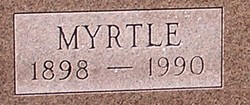 Myrtle Rosa <i>Ebert</i> Bachman