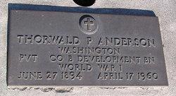 Thorwald P Anderson