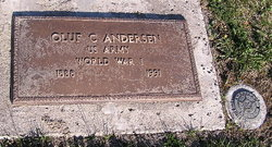 Oluf C Anderson