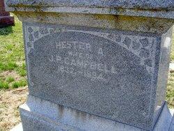 Hester Ann <i>Quiett</i> Campbell