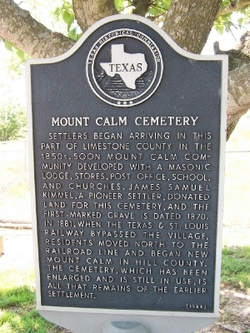 Mount Calm Cemetery