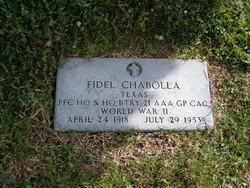 Fidel Chabolla