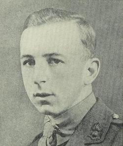 2nd Lt Frazer Keith Lefroy