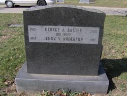 Jenny V. <i>Anderson</i> Baxter