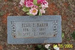 Elsie Etta <i>Stoddard</i> Baker