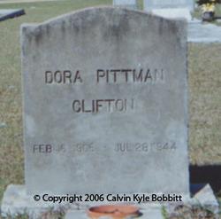 Dora <i>Pittman</i> Clifton